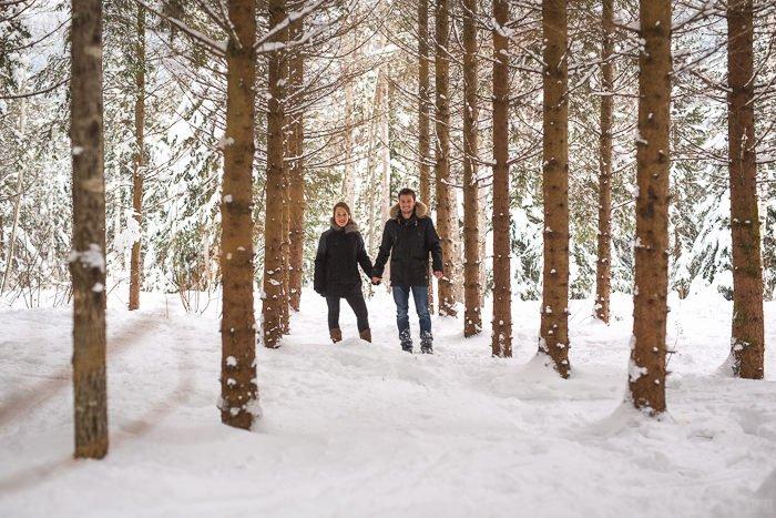 Séance engagement en Montagne / photographe streetfocus / publié sur withalovelikethat.fr