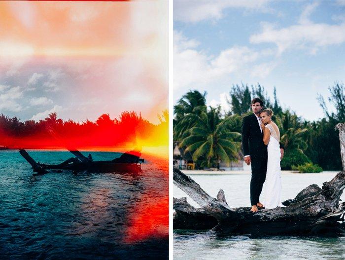 mariage éco citoyen en polynésie / photographe Pierre Atelier / publié sur withalovelikethat.fr