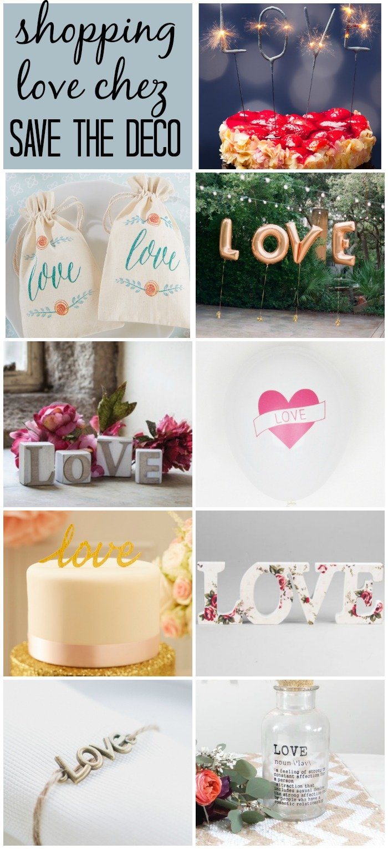 Save the deco : boutique en ligne de décoration (mariage, babyshower, anniversaires...) / ma sélection sur withalovelikethat.fr