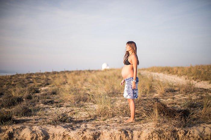 Séance photo grossesse à Mimizan dans les landes / photographe Marc Bourrel / publié sur withalovelikethat.fr
