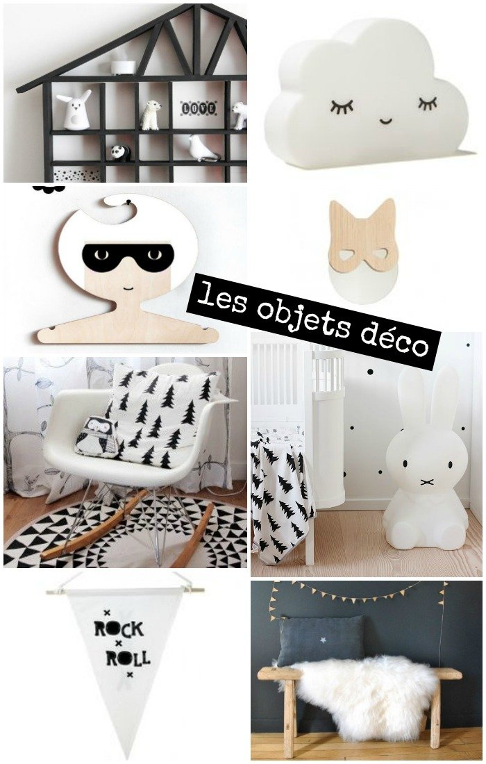 Inspiration chambre b b mini like that with a love for Chambre parentale noir et blanc