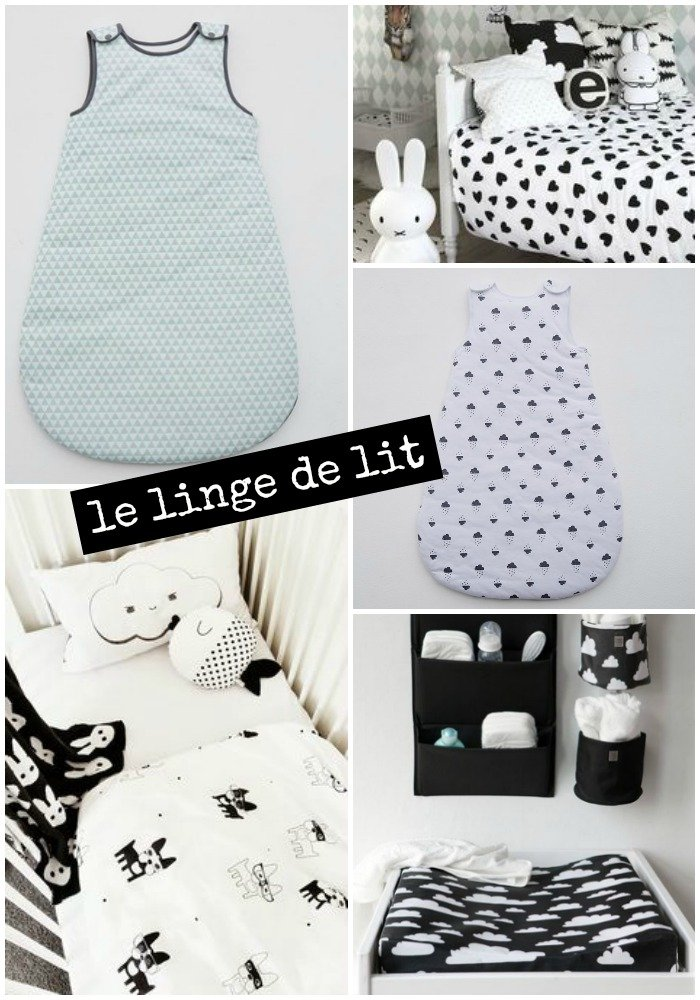 Inspiration chambre b b mini like that with a love like that blog mari - Chambre enfant noir et blanc ...