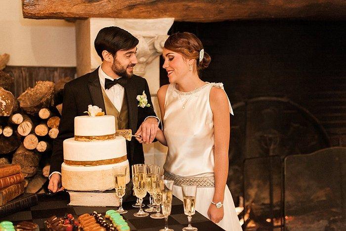 Shooting inspiration mariage Gatsby / photographe Céline Chan / publié sur withalovelikethat.fr