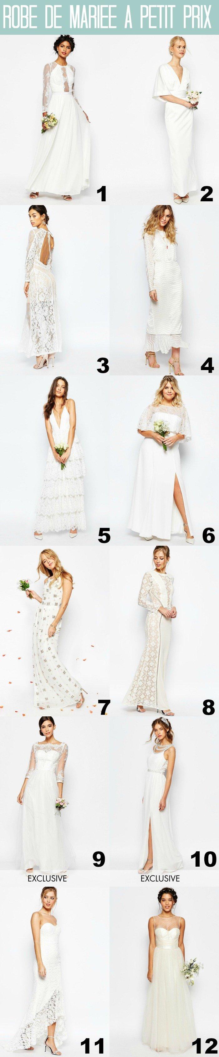 Robe de mariée à petit prix (mais canon) / les références sur withalovelikethat.fr