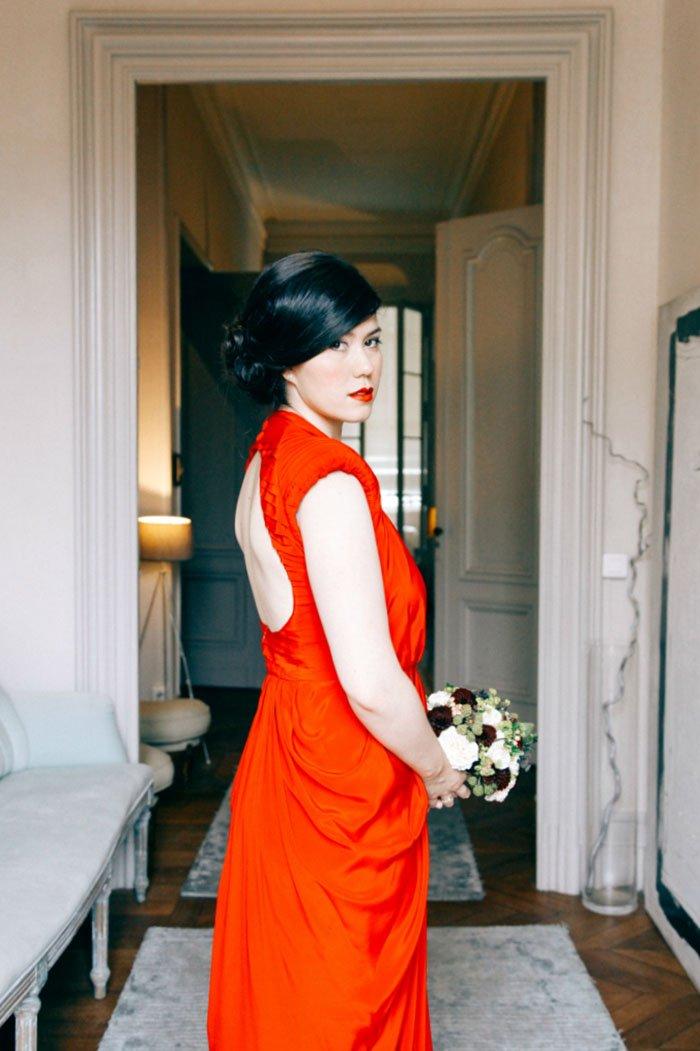 Mariage en rouge / photographe mojo photography / plus de détails sur withalovelikethat.fr