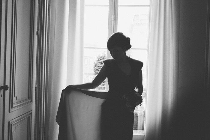 une mari e en rouge bordeaux with a love like that blog lifestyle love. Black Bedroom Furniture Sets. Home Design Ideas