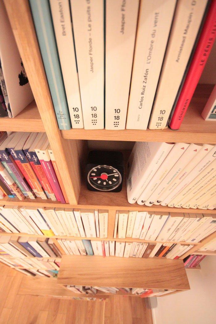 bibliotheque sur mesure of le dahé / vivre heureux dans un petit espace / sur withalovelikethat.fr
