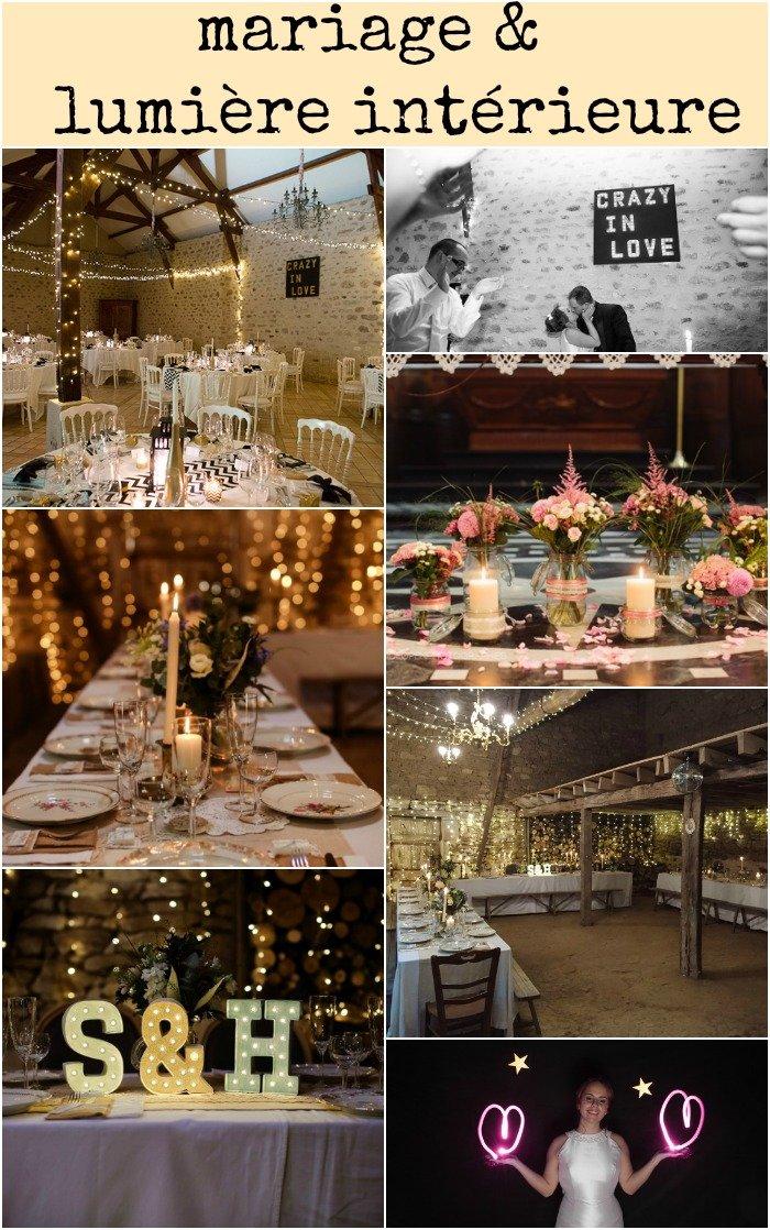 décoration mariage : la lumière
