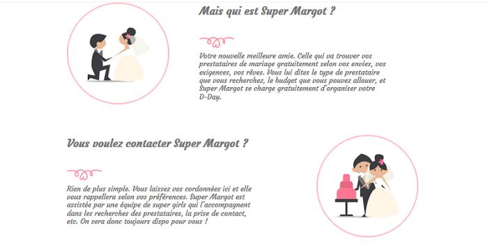 le mariage pour les débutants avec super Margot