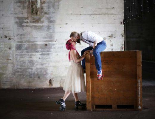 inspiration mariage à rollers / photographe la danse de l'image / publié sur withalovelikethat.fr