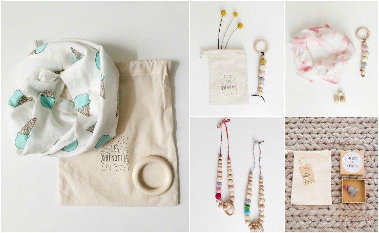 les quenottes accessoires bébés / sur withalovelikethat.fr