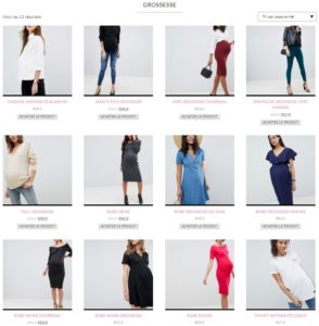 selection vêtements femme enceinte stylée