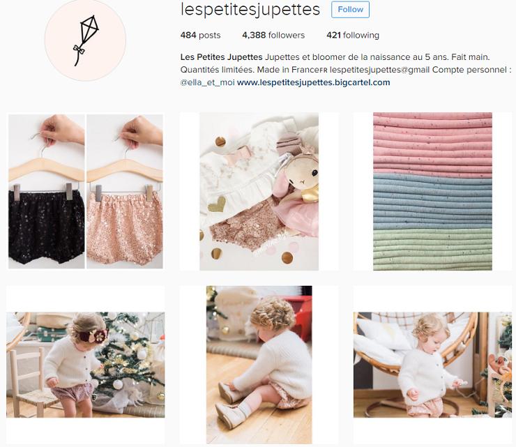 les petites jupettes découverte instagram boutique bébé