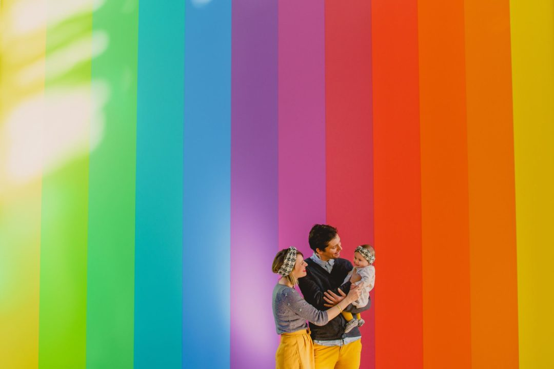 Séance photo famille avec navyblur
