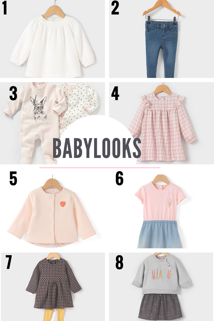 babylook babygirl sur la redoute / sélection par withalovellikethat.fr