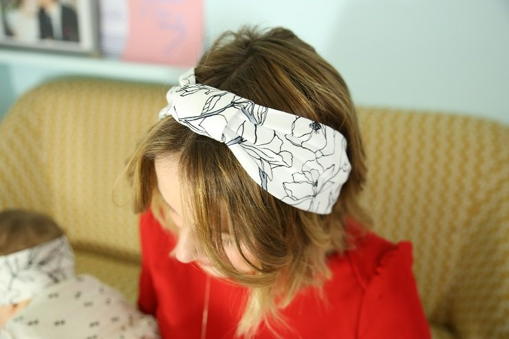 duo headband mère fille / withalovelikethat x les dormeuses de madopolam