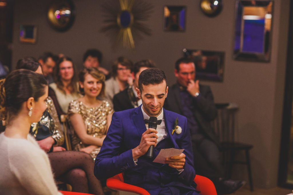 mariage rétro cool / withalovelikethat.fr
