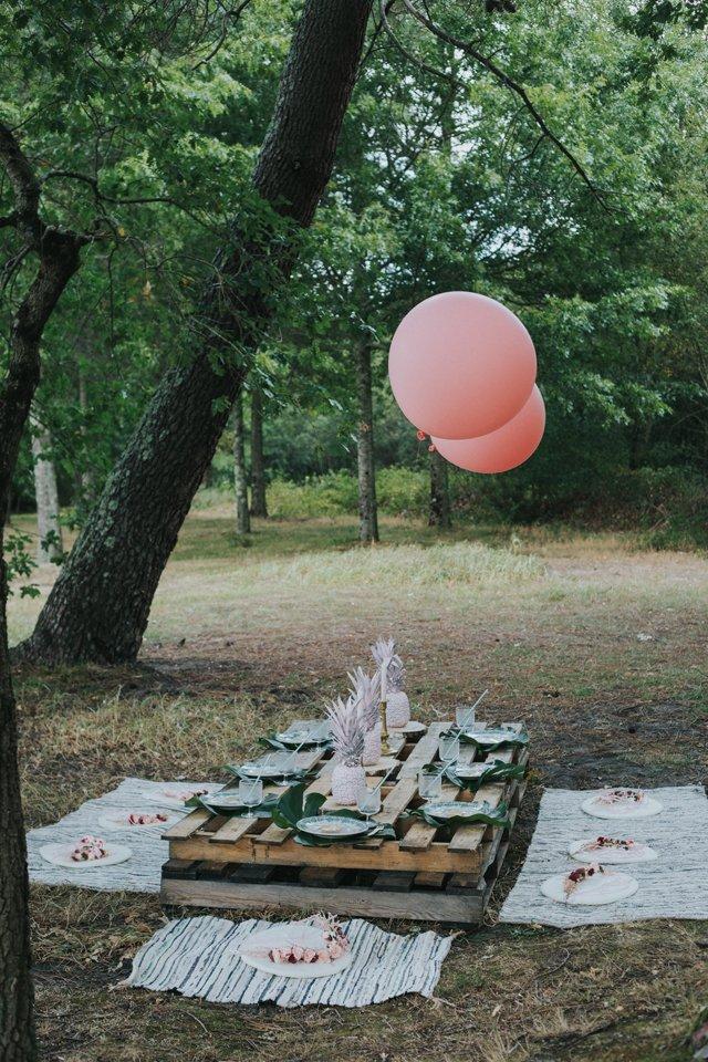 Babyshower tropicale / idées activités et décoration sur withalovelikethat.fr