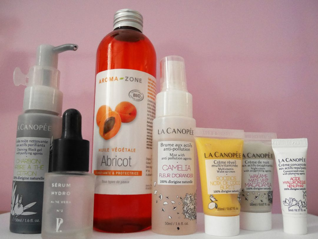 ma routine de soins naturels withalovelikethat