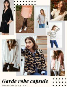 garde robe capsule, sélection de marques créateurs / withalovelikethat.fr