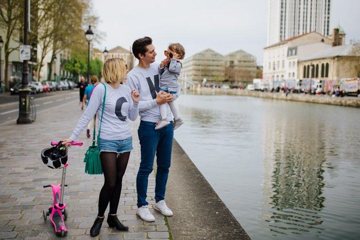 Séance photo famille La villette / famille withalovelikethat / photographe Elodie Forot