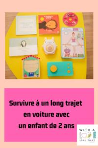 survivre à un long trajet en voiture avec un enfant / withalovelikethat.fr