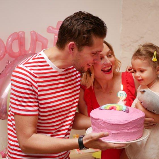 la fête d'anniversaire 2 ans de Romie Jolie
