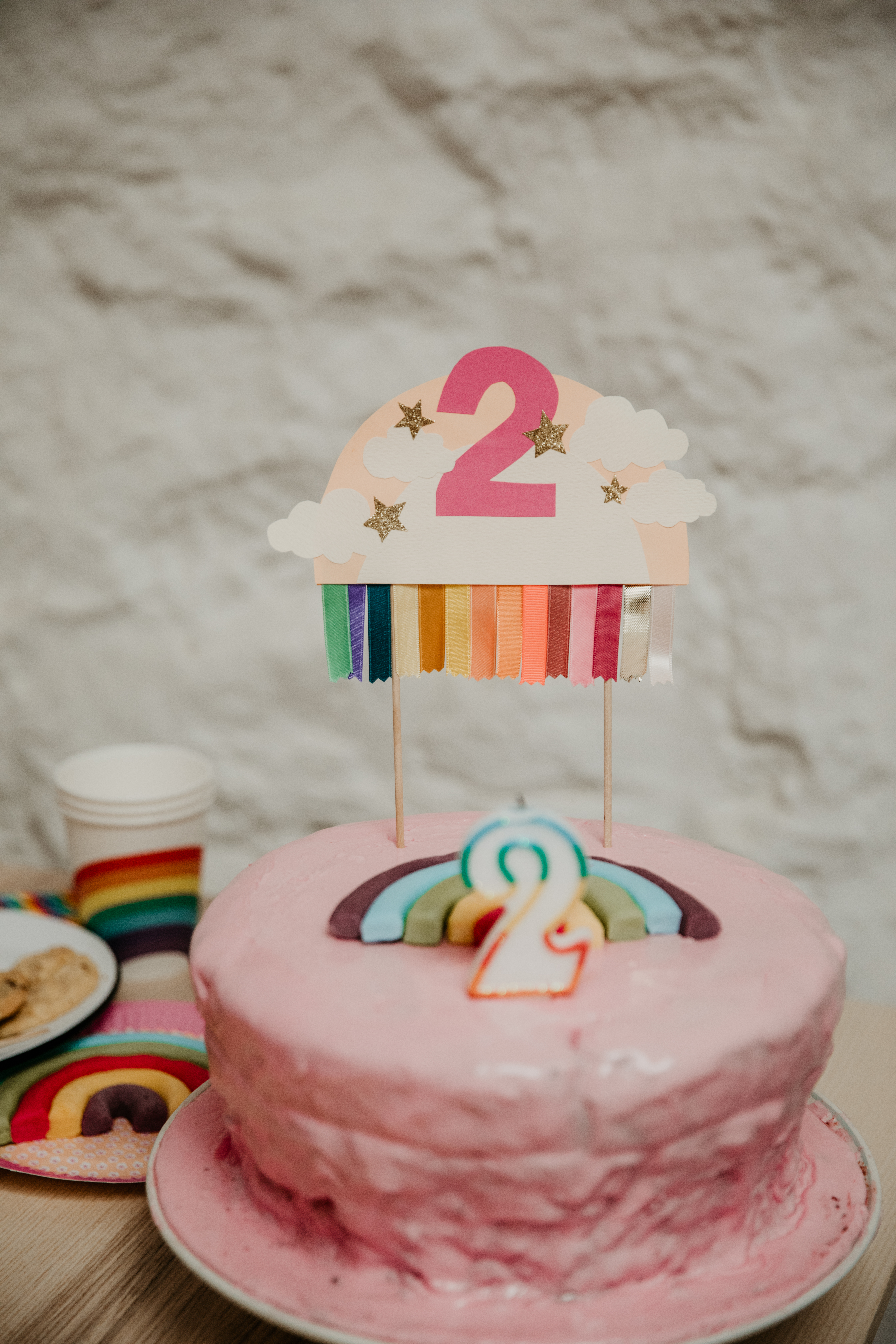 anniversaire Romie 2 ans / withalovelikethat.fr