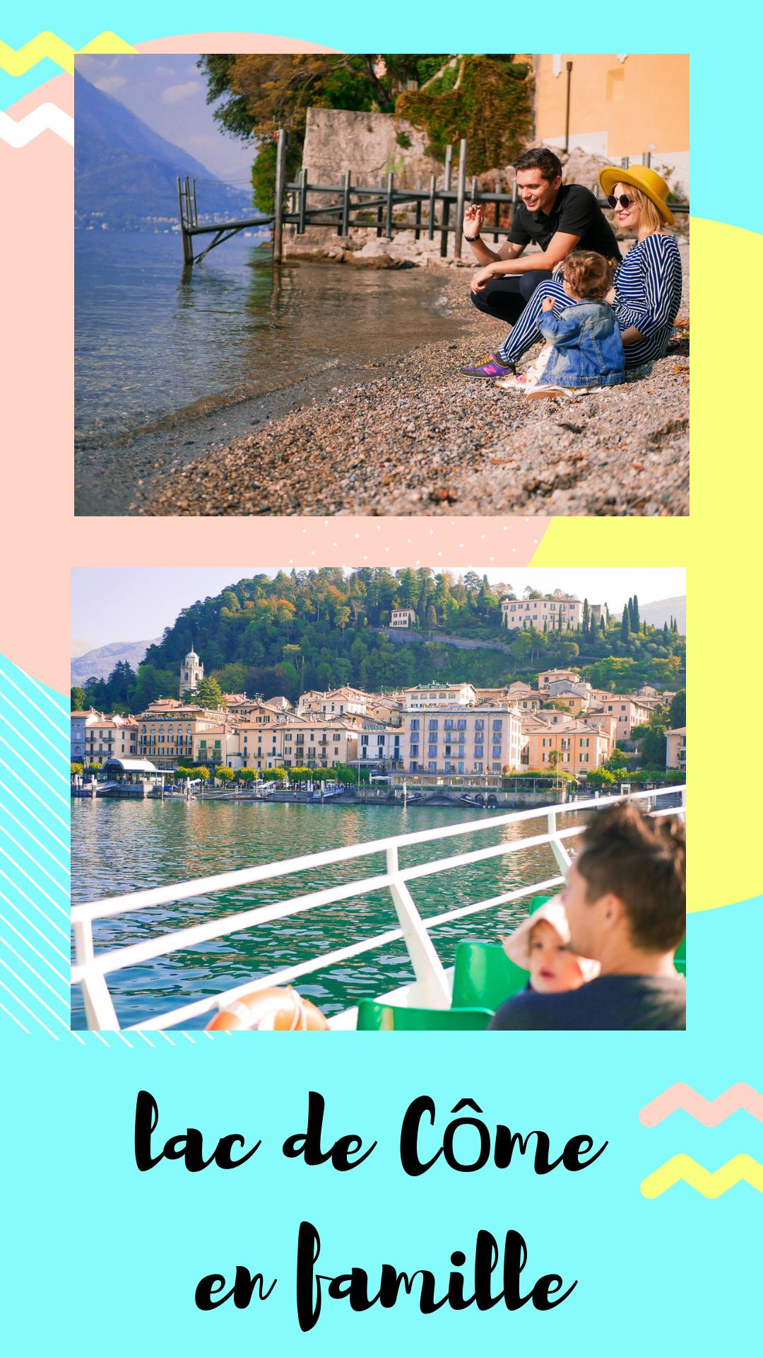 vacances au lac de Côme en famille / nos adresses et visites sur withalovelikethat.fr