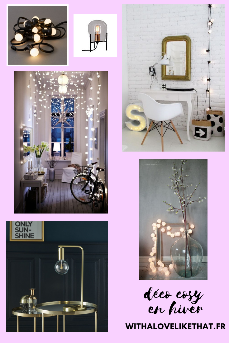 décoration cosy en hiver / withalovelikethat.fr