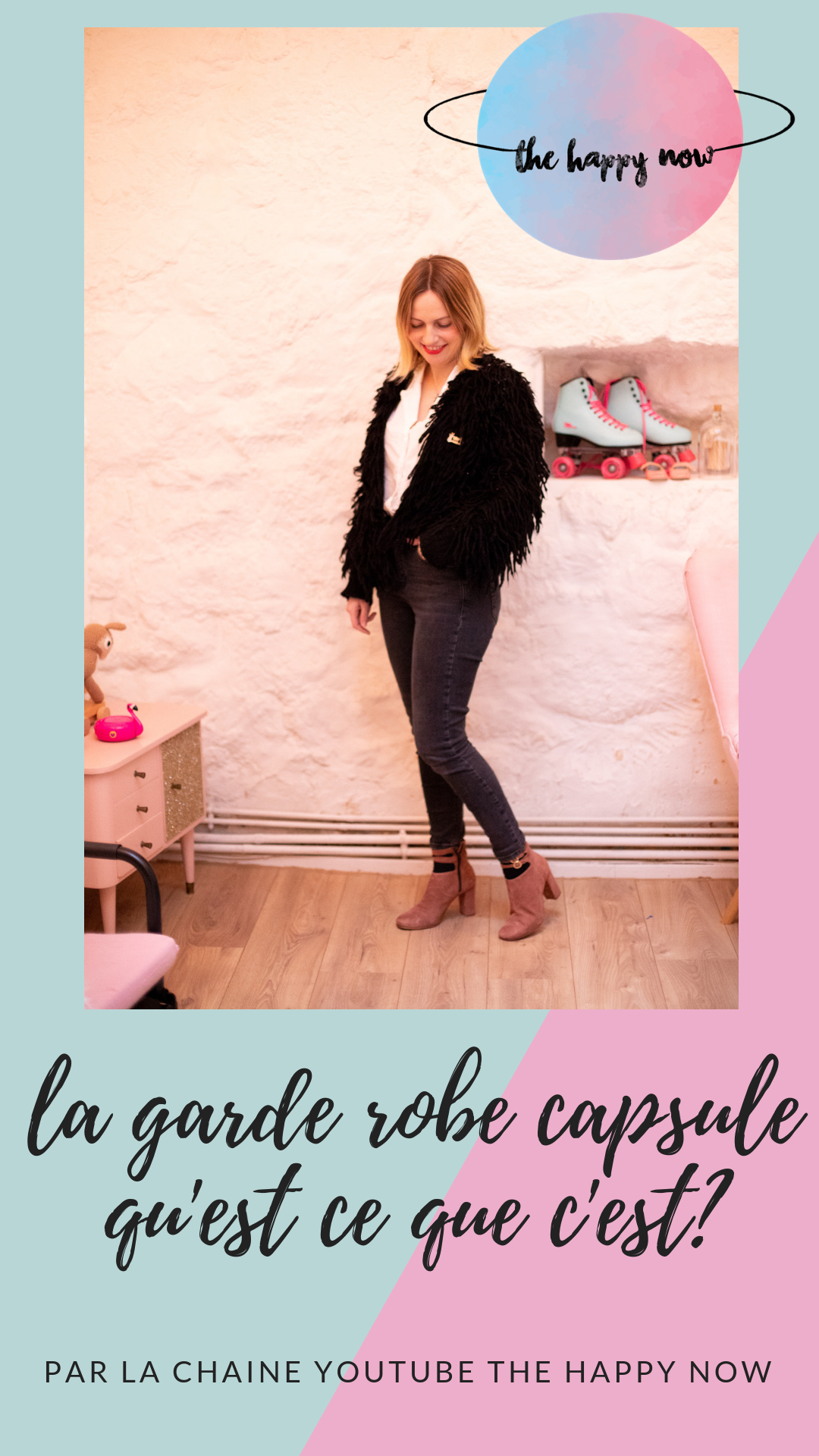 garde robe capsule ; qu'est ce que c'est ? the happy now