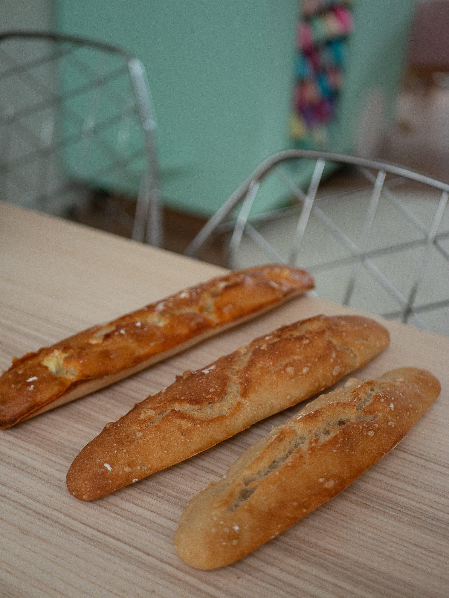 Recette baguette de pain sans robot facile et rapide / plus sur withalovelikethat.fr