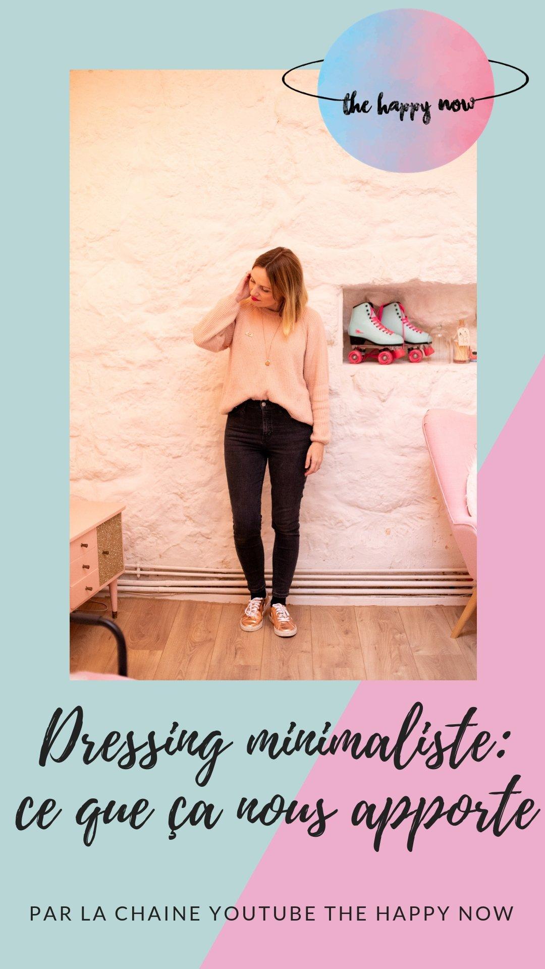 avoir un dressing minimaliste, qu'est ce que ça nous apporte?