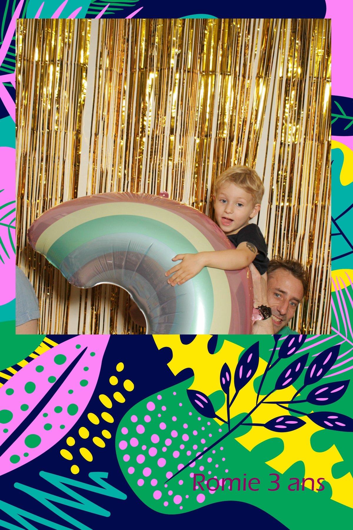 fête anniversaire summer party avec borne photo vintage misterlikethat