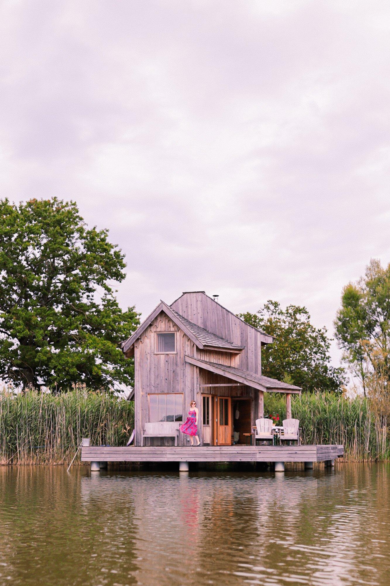 week end en amoureux / la cabane au bord de l'eau / withalovelikethat.fr