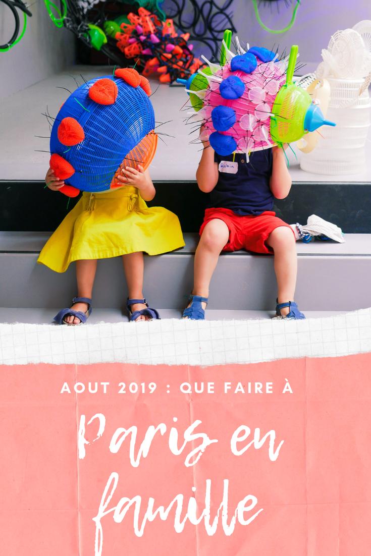 paris en famille en aout 2019 / sur withalovelikethat.fr