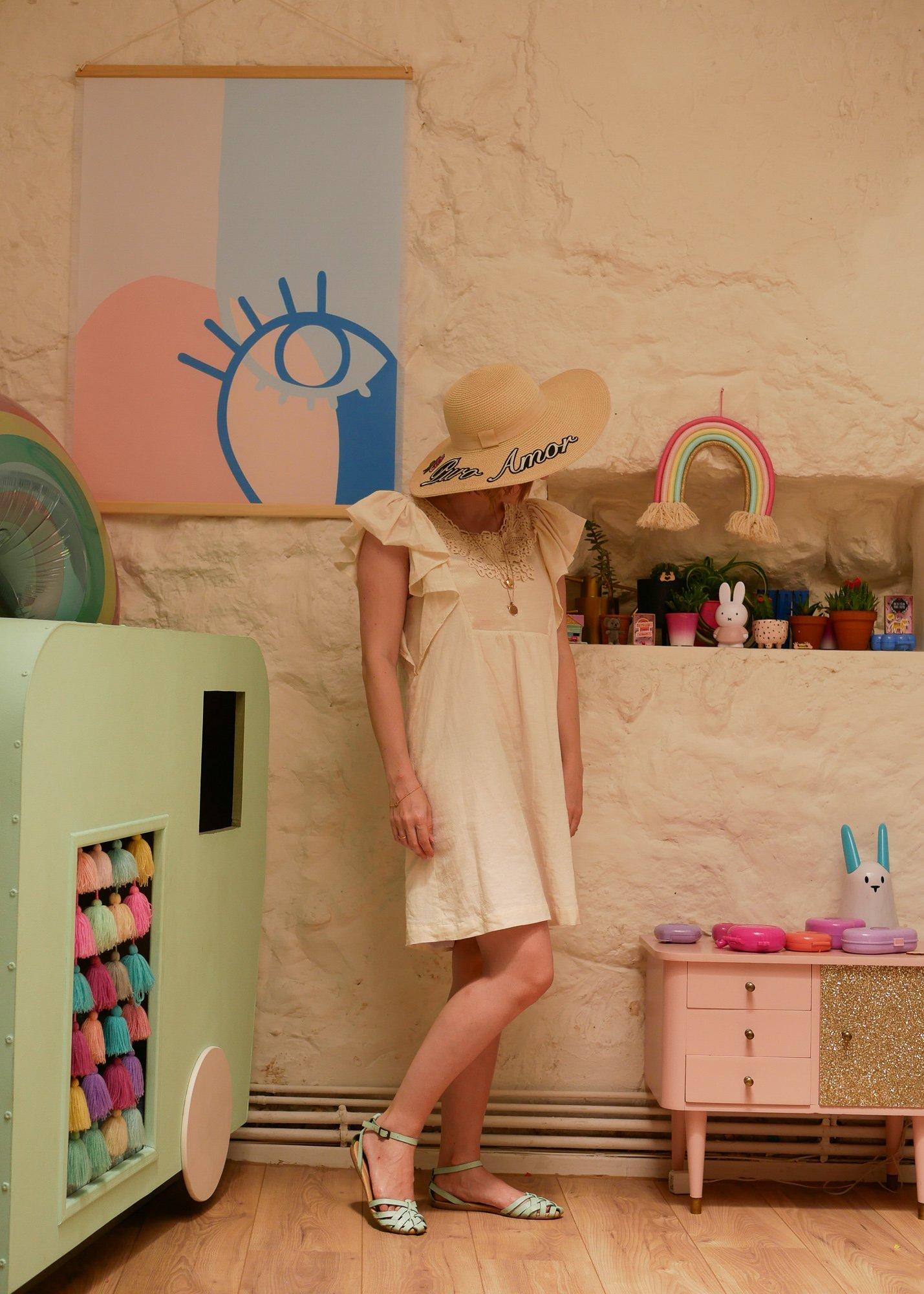 look d'été / robe Vanina Escoubet / 1 robe 3 styles withalovelikethat.fr