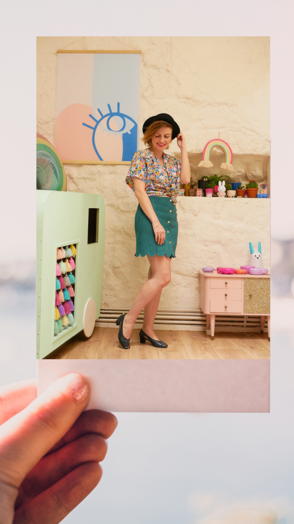 Garde robe capsule: avec une chemise vintage