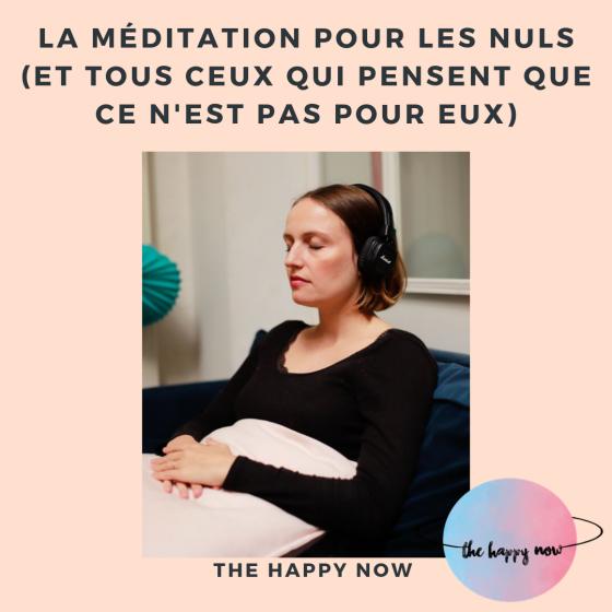 méditation pour les nuls