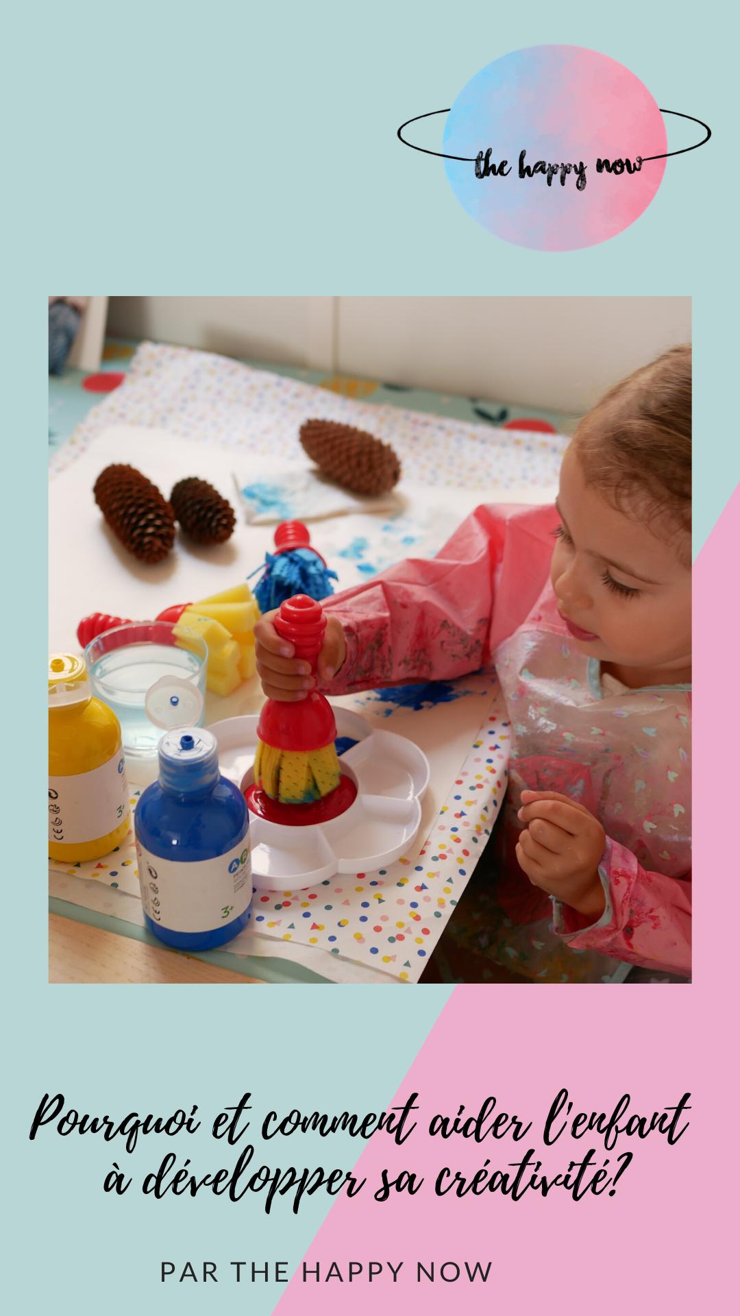 comment et pourquoi développer la créativité chez son enfant