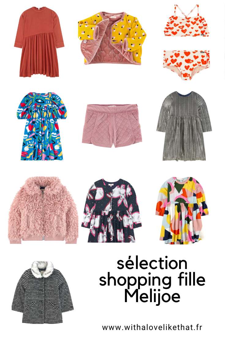 selection shopping sur melijoe