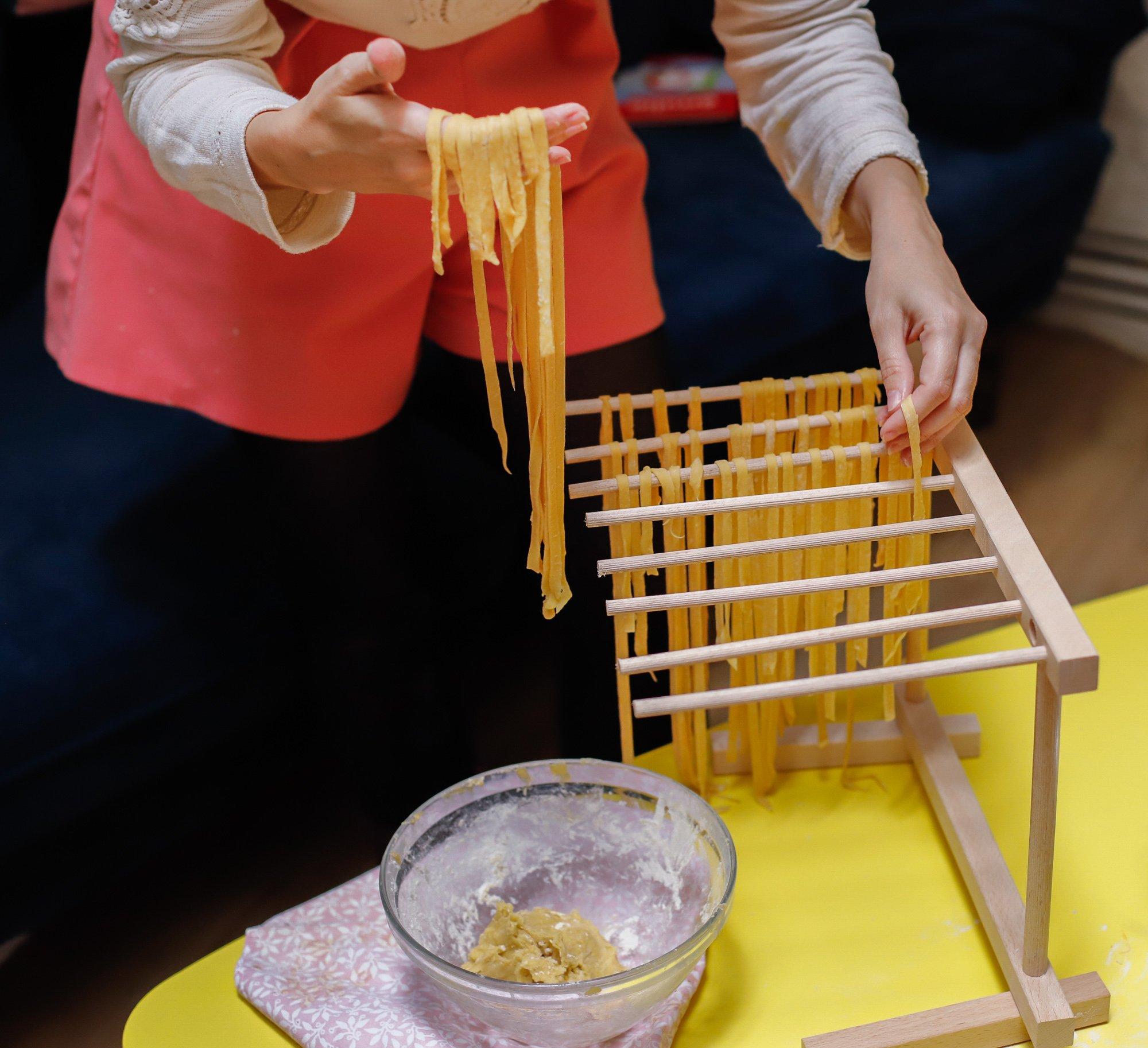 activité en famille, faire ses pâtes fraiches