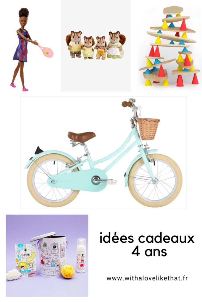 idées cadeau 4 ans / withalovelikethat.fr
