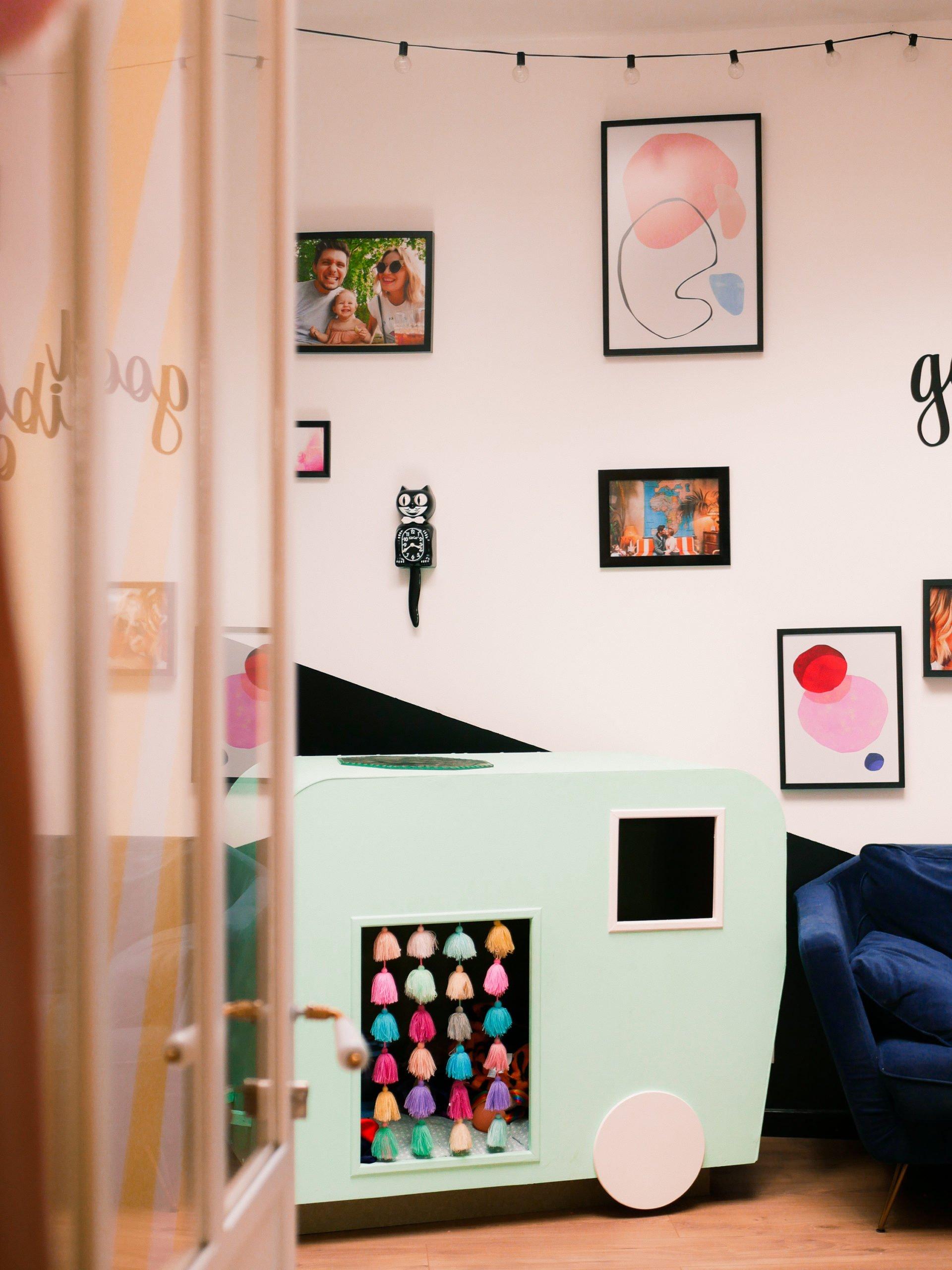 decoration vintage colorée