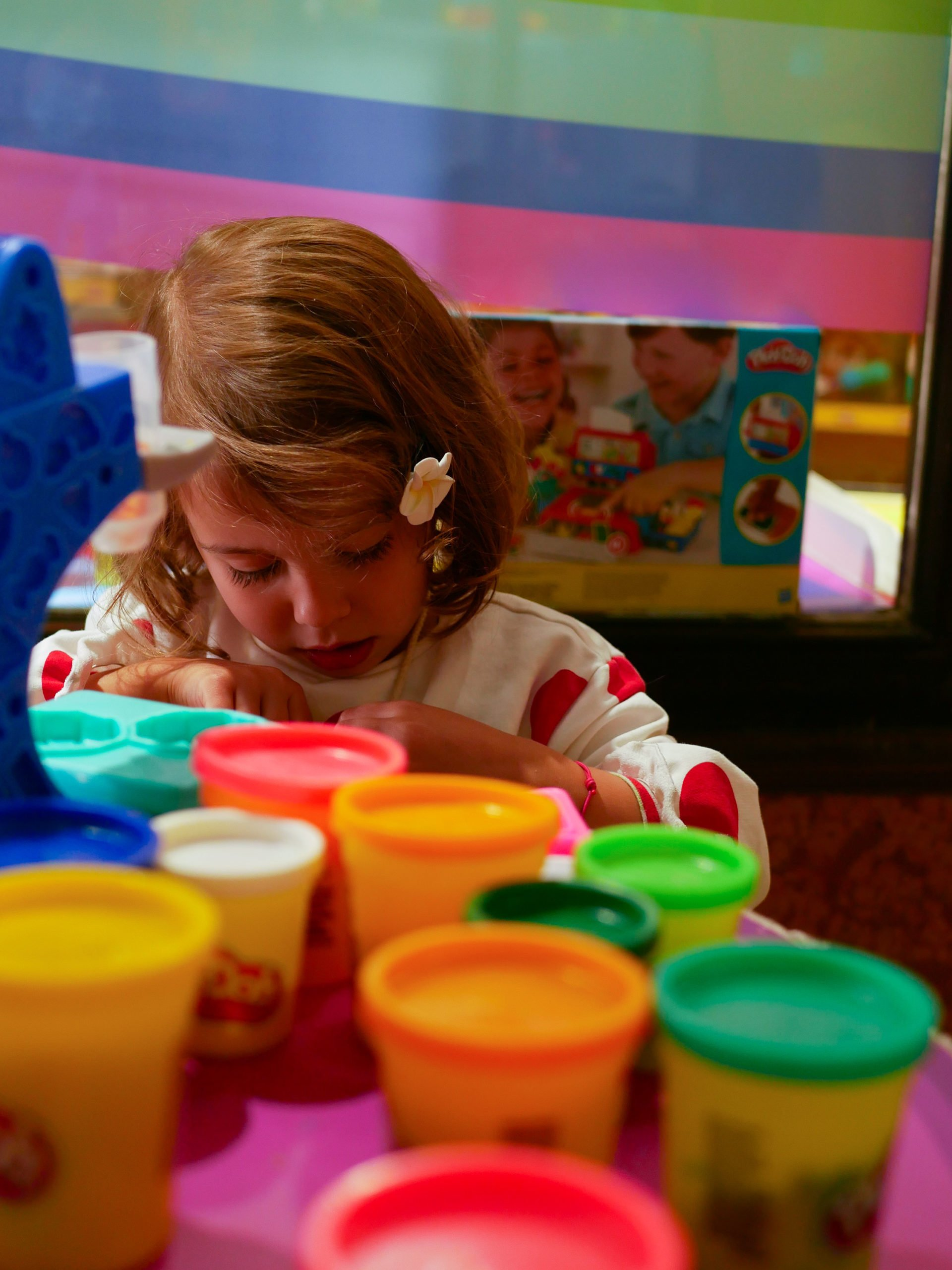 atelier play doh Paris / atelier gratuits en famille