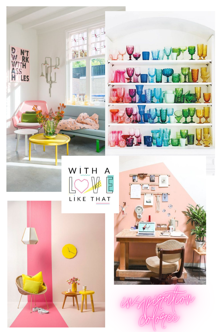 inspiration maison colorée - withalovelikethat
