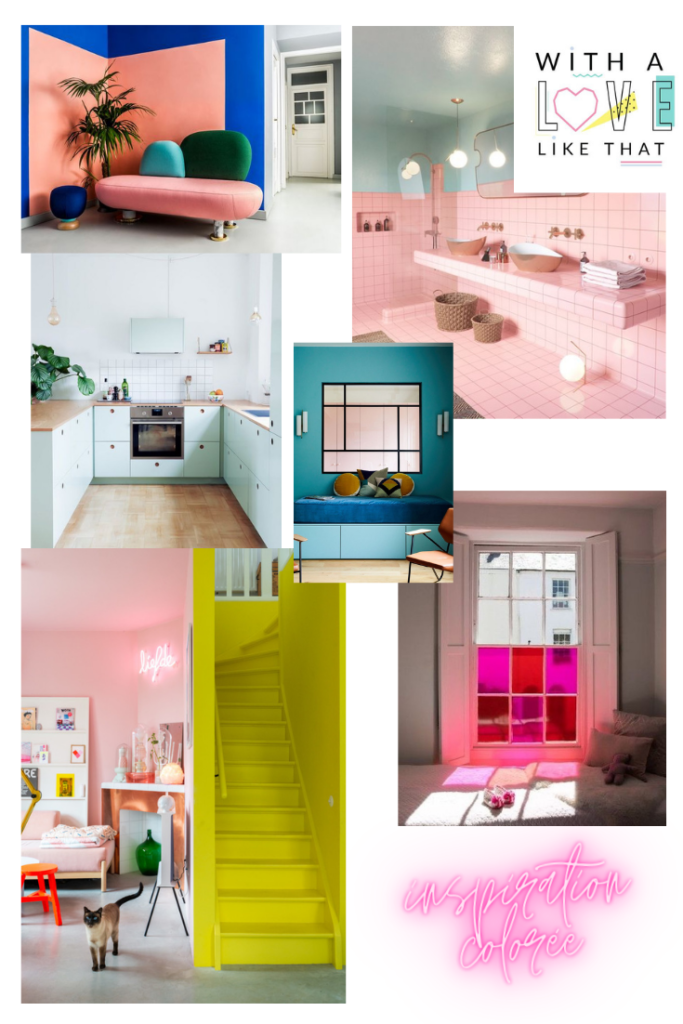 inspiration maison colorée - withalovelikethat.fr
