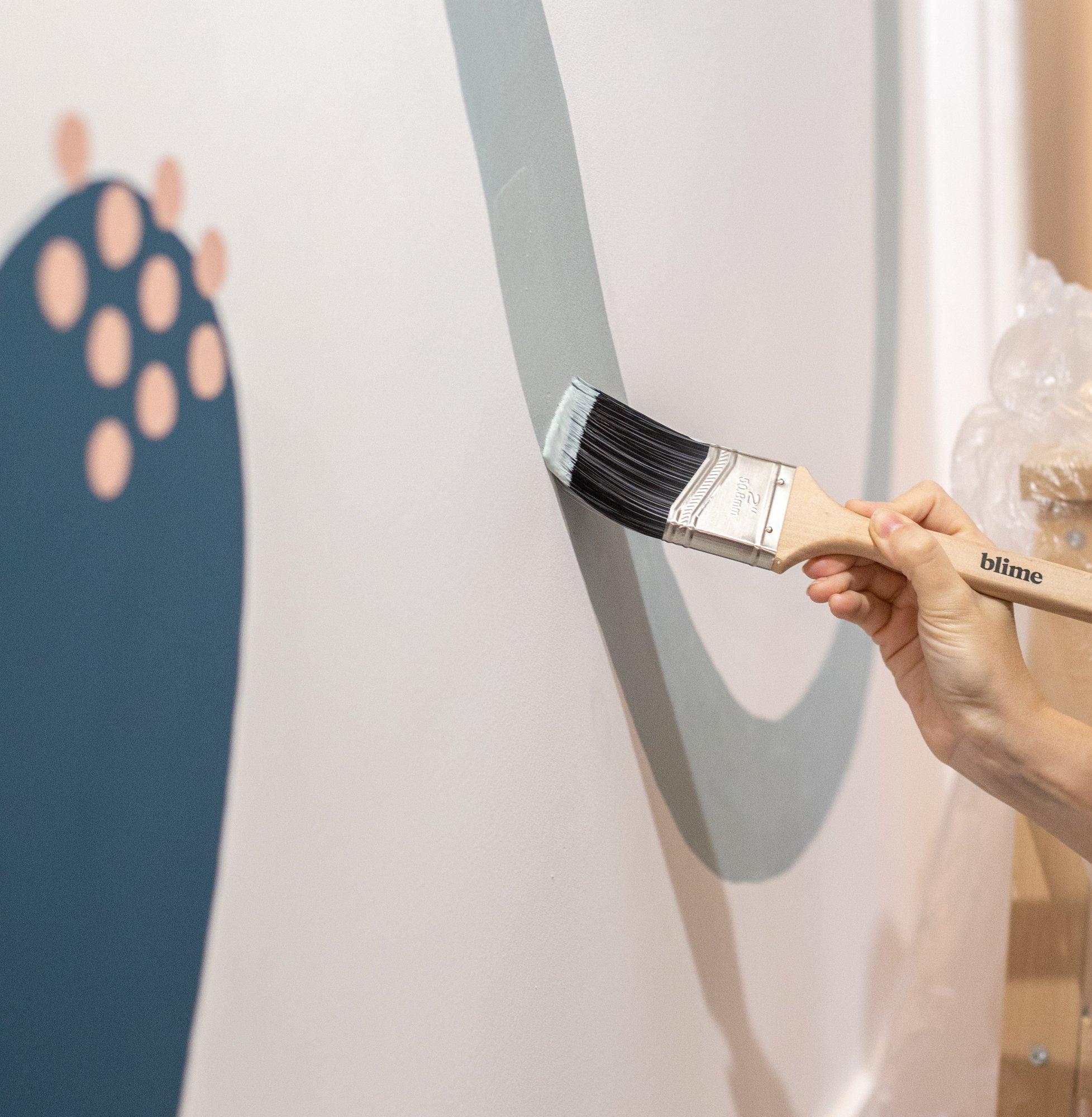 création de fresques sur mesure / par withalovelikethat.fr