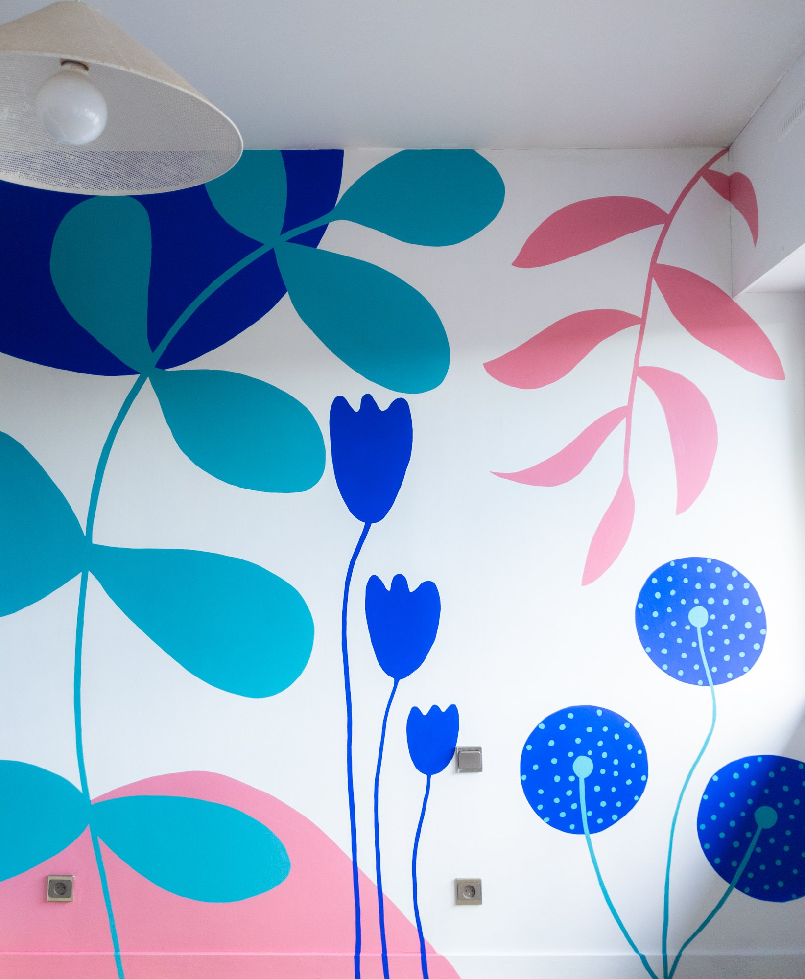 fresque personnalisée / withalovelikethat.fr